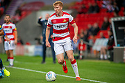 Brad Halliday Of Doncaster Rovers during the EFL Sky Bet League 1 match between Doncaster Rovers and Bristol Rovers at the Keepmoat Stadium, Doncaster, England on 19 October 2019.