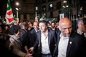 Mattero Renzi in Naples