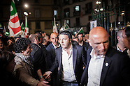 Mattero Renzi in Naples