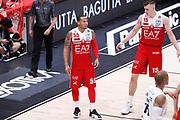 Jerrells Curtis delusione, EA7 EMPORIO ARMANI OLIMPIA MILANO vs DOLOMITI ENERGIA TRENTINO, gara 1 Finale Play off Lega Basket Serie A 2017/2018, Mediolanum Forum, Assago (MI) 5 giugno 2018 - FOTO: Bertani/Ciamillo