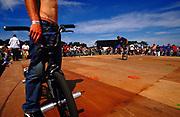 BMX tricks Back Yard Jam BMX event Hastings UK 2002