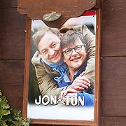 NLD/Amsterdam/20150511 - Jon van Eerd en Ton Fieren vieren hun 35jarig partnerschap,