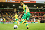 Norwich City defender Jamal Lewis (12)  during the EFL Sky Bet Championship match between Norwich City and Blackburn Rovers at Carrow Road, Norwich, England on 27 April 2019.
