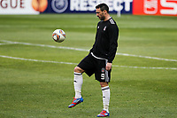 20120213: BRAGA, PORTUGAL - Hugo Almeida at the Besiktas JK training session before UEFA Europe League match against SC Braga.<br /> PHOTO: CITYFILES