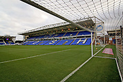A general view of the Abax Stadium before the EFL Sky Bet League 1 match between Peterborough United and Scunthorpe United at London Road, Peterborough, England on 1 January 2019.