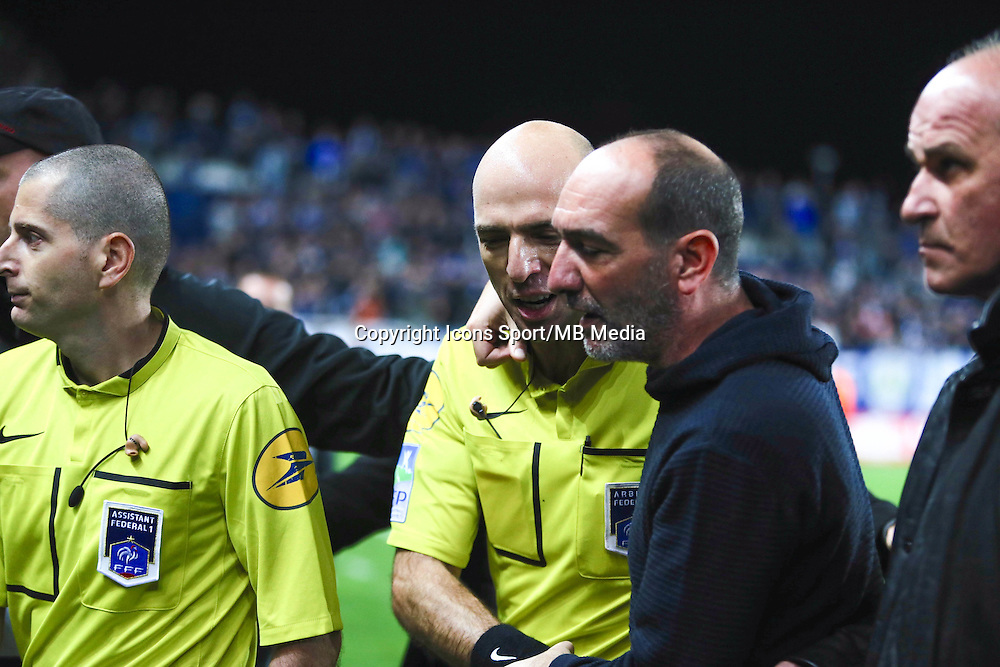 Bartolomeu VARELA / Pierre MARIE GERONIMI - 03.12.2014 - Bastia / Evian Thonon - 16eme journee de Ligue 1 <br />Photo : Michel Maestracci / Icon Sport