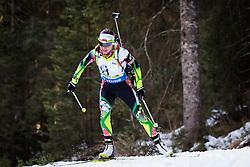 Nadezhda Skardino (BLR) competes during Women 10 km Pursuit at day 3 of IBU Biathlon World Cup 2015/16 Pokljuka, on December 19, 2015 in Rudno polje, Pokljuka, Slovenia. Photo by Ziga Zupan / Sportida