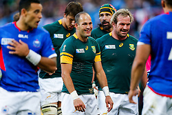 South Africa Scrum-Half Fourie du Preez looks on - Mandatory byline: Rogan Thomson/JMP - 07966 386802 - 26/09/2015 - RUGBY UNION - Villa Park - Birmingham, England - South Africa v Samoa - Rugby World Cup 2015 Pool B.