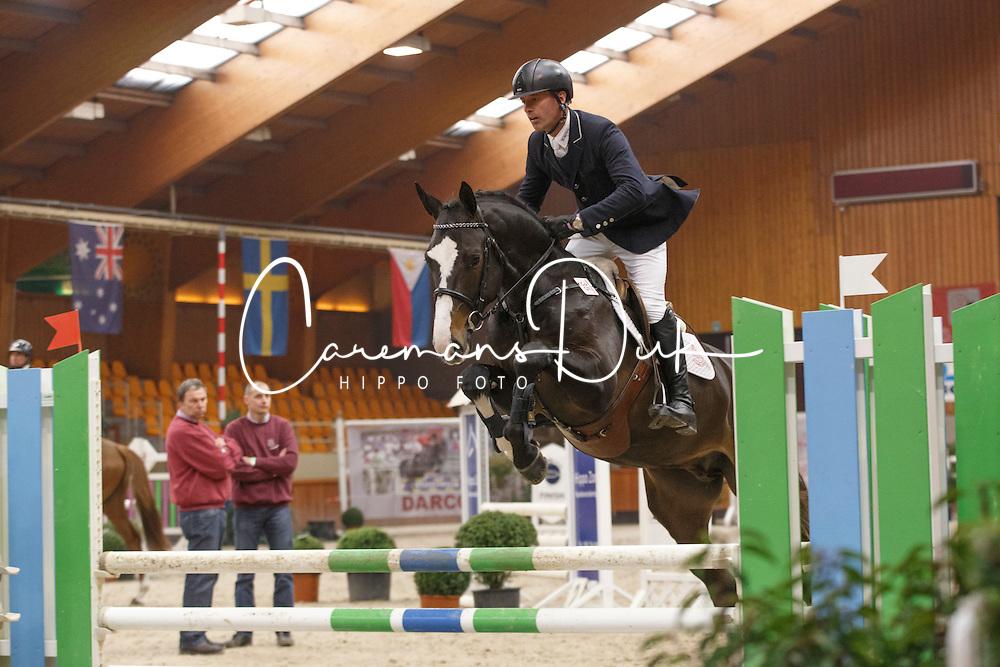 35 - De Clercq Kurt (BEL) - Libert van't Ruytershof<br /> BWP Hengstenkeuring 2014<br /> Zilveren Spoor Moorsele 2014<br /> &copy; Dirk Caremans