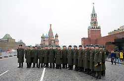 Red Square, Moscow, on November 14, 2009, Moscow, Russia.  (Photo by Vid Ponikvar / Sportida)