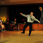 "Ayan Imai-Hall performs in the show ""Ring in the Rhythm! A Jazz & Tap Holiday"" at The Dance Hall in Kittery, ME"