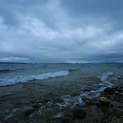 &quot;Rocky Shores at McGulpin Point&quot;<br />