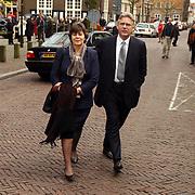 Mattheus Passion 2004 Naarden, Minister voor Vreemdelingenzaken en Integratie Rita Verdonk en haar man