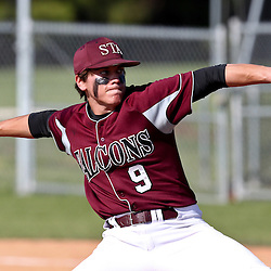 During a St. Thomas High School baseball game.
