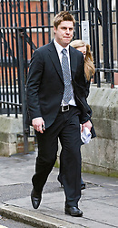 © London News Pictures. 22/11/2011. London, UK.  Former Premier League footballer GARRY FLITCROFT outside The Royal Courts of Justice today (22/11/2011) after giving evidence at the Leveson Inquiry into press standards. The inquiry is being lead by Lord Justice Leveson and is looking into the culture, and practice of the UK press. The Leveson inquiry, which may take a year or more to complete, comes after The News of The World Newspaper was closed following a phone hacking scandal. Photo credit : Ben Cawthra/LNP