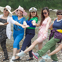 BEIJING, JUNE 24, 2013 :   Mitglieder  des Elite Clubs posieren fuer Fotos . Li gruendete den Club vor einem Jahr . Mitglieder koennen nur per Einladung beitreten und muessen ein gewisses Einkommen nachweisen koennen.