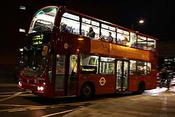 UK ENGLAND LONDON 26MAR14 - Double decker bus at Edgware Road, Paddington, central London.<br /> <br /> jre/Photo by Jiri Rezac<br /> <br /> © Jiri Rezac 2014