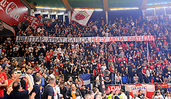 DELIJE, supporters of Crvena Zvezda during basketball match between KK Crvena Zvezda mts Belgrade (SRB) and Olympiacos Piraeus (GRE) in Round #20 of Euroleague 2017/18, on January 26, 2018 in Arena Aleksandar Nikolic, Belgrade, Serbia. Photo by Nebojsa Parausic / Sportida