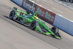February 9, 2018 - Avondale, Arizona, United States of America - February 09, 2018 - Avondale, Arizona, USA: Spencer Pigot (21) takes his IndyCar Verizon car through the turns during the Prix View at ISM Raceway in Avondale, Arizona. (Credit Image: © Walter G Arce Sr Asp Inc/ASP via ZUMA Wire)