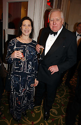 LORD HATTERSLEY and MAGGIE PEARLSTINE at the Costa Book Awards 2006 held at The Grosvenor House Hotel, Park Lane, London W1 on 7th February 2007.<br />