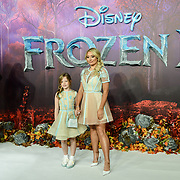 Saffron Barker attend European Premiere of Frozen 2 on 17 November 2019, BFI Southbank, London, UK.