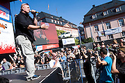 Mainz | 07.08.2010..Summer Music Festival of RPR 1 Radio Station in the german city of Mainz (Rhineland-Palatinate), picture shows Rolf Stahlhofen, Rock and Soul singer fron the german city of Mannheim and founder of Soehne Mannheims..RPR 1 Rheinland-Pfalz Open Air 2010 in Mainz, hier: Rolf Stahlhofen, Rock- und Soul-Sänger aus Mannheim und Gründer der Söhne Mannheims...©peter-juelich.com..[No Model Release | No Property Release]