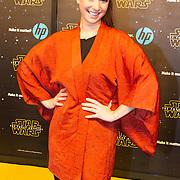 NLD/Amsterdam/20151215 - première van STAR WARS: The Force Awakens!, Chava voor in t Holt