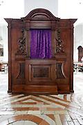 decorative confessional Italy