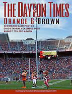Orange & Brown Scrimmage Game, Ohio Stadium, Columbus Ohio August 7th 2015, 6:00pm Cover