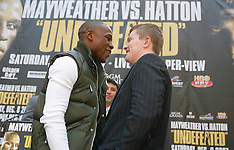 September 19, 2007: Floyd Mayweather Jr vs Ricky Hatton Press Conference