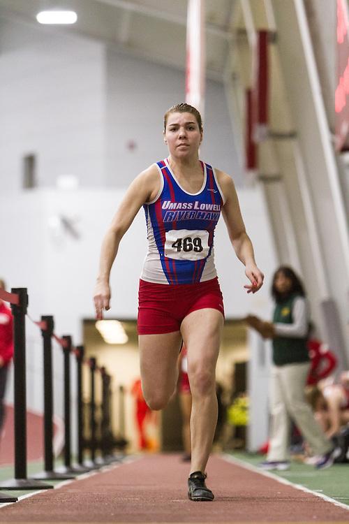Boston University Multi-team indoor track & field, womens long jump, UMass Lowell, 469