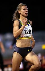 Slovenian runner Brigita Langerholc in Velenje, on June 28, 2007.  (Photo by Vid Ponikvar / Sportal Images)