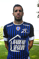 Raphael Caceres during the photocall of Troyes Estac for season of ligue 2 on September 3rd 2016 in Troyes<br /> Photo : Philippe Le Brech / Icon Sport