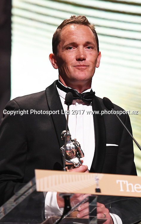 Gordon Walker.<br /> The 54th Halberg Awards in support of the Halberg Disability Sport Foundation. Vector Arena, Auckland, New Zealand. Thursday 9 February 2017. &copy; Copyright photo: Andrew Cornaga / www.photosport.nz