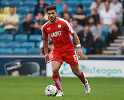 Chesterfield player Sam Morsy during the Sky Bet League 1 match between Millwall and Chesterfield at The Den, London, England on 29 August 2015. Photo by Bennett Dean.