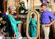 Active Aging Senior Citizens, Retired, Activities, Shopping. Clothing Store, Boutique, Couple Apparel Buying