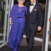 NLD/Amsterdam/20161129 - Staatsbezoek dag 2, contraprestatie Belgische koningspaar, prins Constantijn en prinses Laurentien