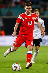 November 16, 2018 - Leipzig, Germany - Ruslan Kambolov of Russia in action during the international friendly match between Germany and Russia on November 15, 2018 at Red Bull Arena in Leipzig, Germany. (Credit Image: © Mike Kireev/NurPhoto via ZUMA Press)