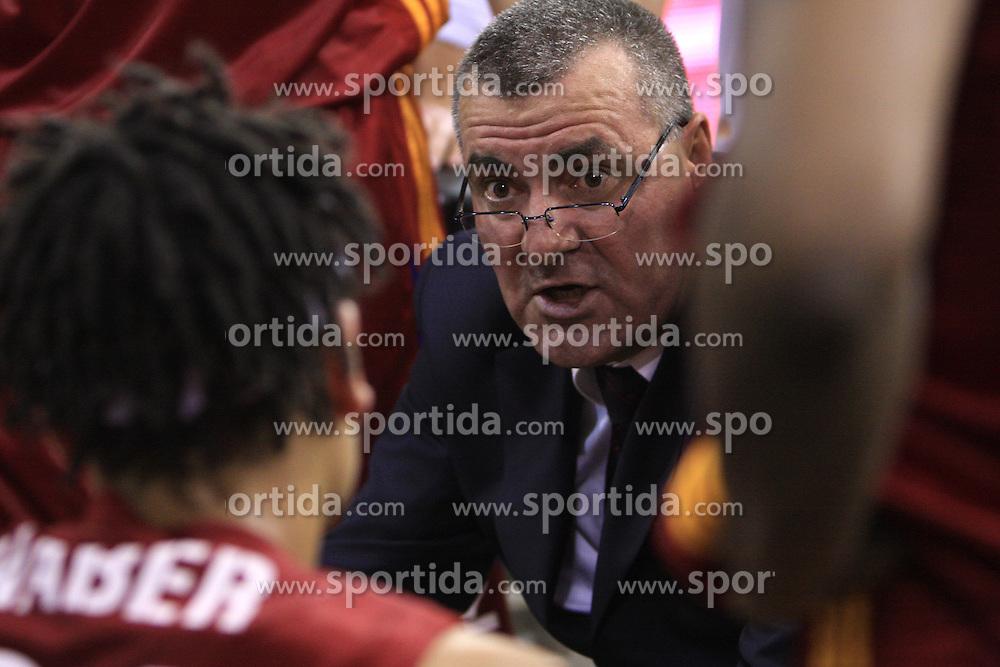 Coach of Roma Jasmin Repesa at basketball match of 3rd Round of Euroleague between KK Union Olimpija (SLO) and Lottomatica Roma (ITA), in Arena Tivoli, Ljubljana, Slovenia, on November 6, 2008. Lottomatica  won the match 78:67.