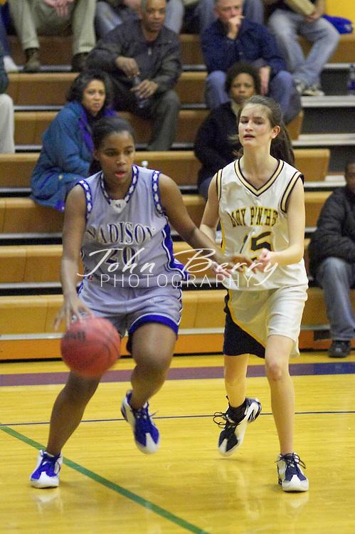 JV Girls Basketball..vs Rappahannock..January 28, 2005