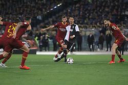May 12, 2019 - Rome, Italy, Italy - (Cristiano Ronaldo) At Stadio Olimpico, As Roma beat Juventus 2-0  with the goal of Alessandro Florenzi and Edin Dzeko (Credit Image: © Paolo Pizzi/Pacific Press via ZUMA Wire)