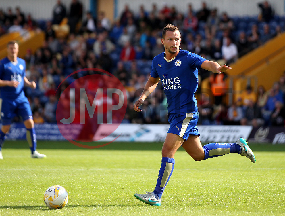 Leicester City's Danny Drinkwater - Mandatory by-line: Robbie Stephenson/JMP - 25/07/2015 - SPORT - FOOTBALL - Mansfield,England - Field Mill - Mansfield Town v Leicester City - Pre-Season Friendly