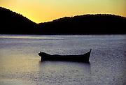Paranagua, Brazil at sunset