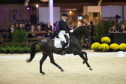Van Olst Anne, (DEN), Vorst<br /> Grand Prix Freestyle Test<br /> CDI 4* Azelhof Lier 2015<br /> © Hippo Foto - Leanjo de Koster