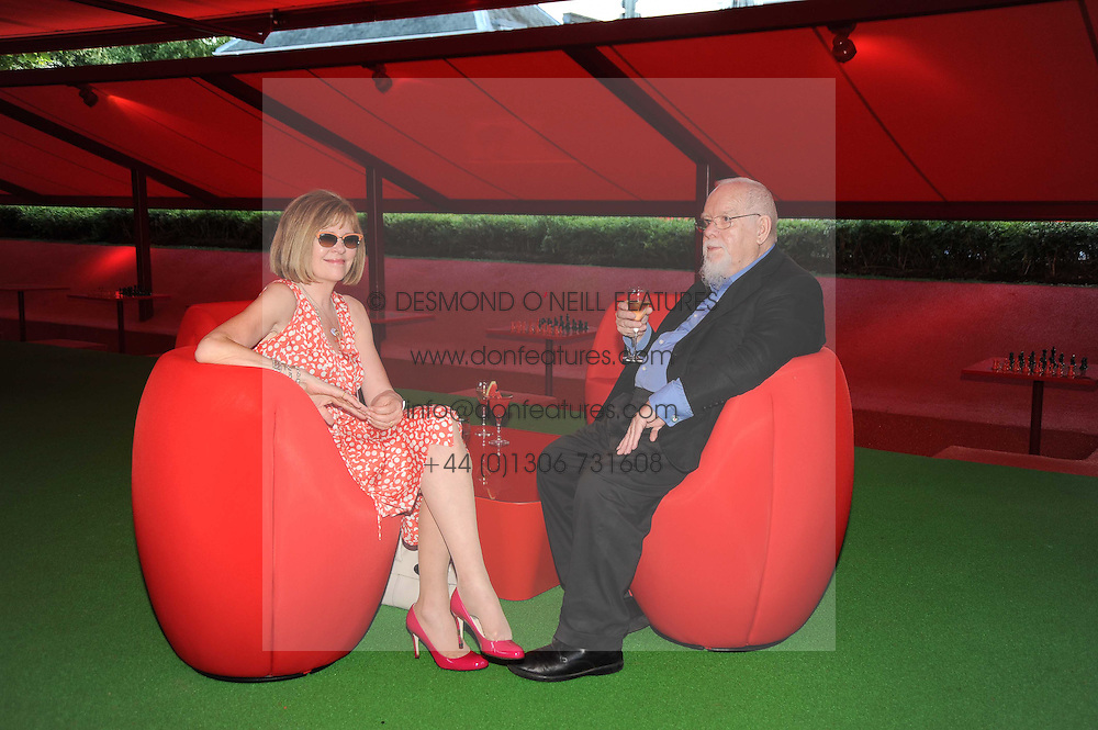 SIR PETER & LADY BLAKE at the annual Serpentine Gallery Summer party this year sponsored by Jaguar held at the Serpentine Gallery, Kensington Gardens, London on 8th July 2010.  2010 marks the 40th anniversary of the Serpentine Gallery and the 10th Pavilion.