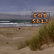 Oregon, Lincoln County, Driftwood Beach