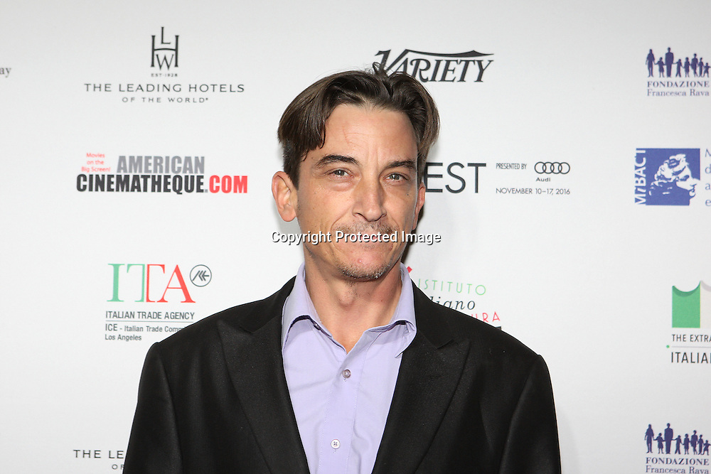 Actor Ralph Michael Brekan attends a Conversation with Gianfranco Rosi and screening of Fire at Sea at AFI Fest 2016 presented by AUDI at the Graumans Egyptian in Hollywood, CA on November 17th