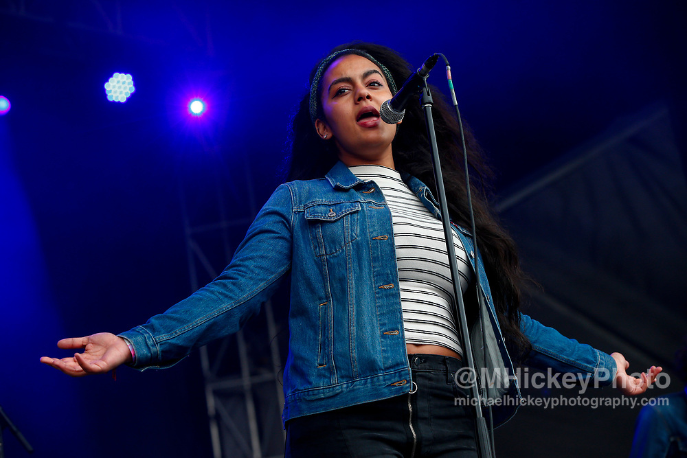 CHICAGO, IL - AUGUST 04: Bibi Bourelly performs at Grant Park on August 4, 2017 in Chicago, Illinois. (Photo by Michael Hickey/Getty Images) *** Local Caption *** Bibi Bourelly
