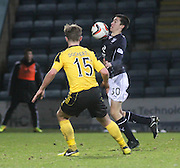 Dundee youngster Cammy Kerr made his first team debut as a substitute - Dundee v Livingston,  SPFL Championship at Dens Park<br /> <br />  - &copy; David Young - www.davidyoungphoto.co.uk - email: davidyoungphoto@gmail.com