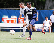 FIU Mens Soccer Vs. Howard.  Game was played on Sunday September 25, 2011 at FIU.  Game was cancelled at the half with FIU leading 2-1.  Game was cancelled for weather.
